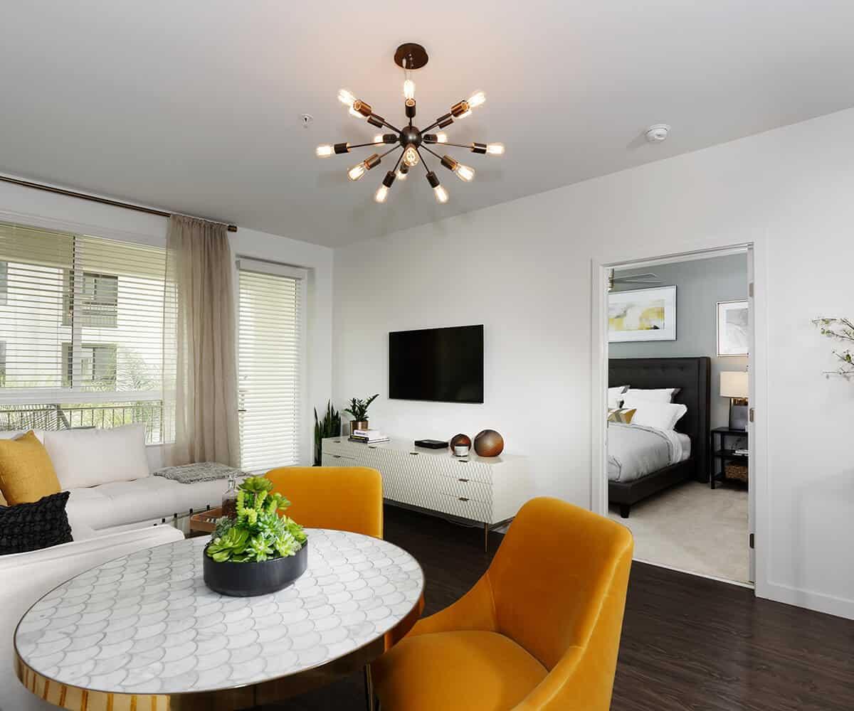 Plan B1 Dining Monrovia Apartments MODA