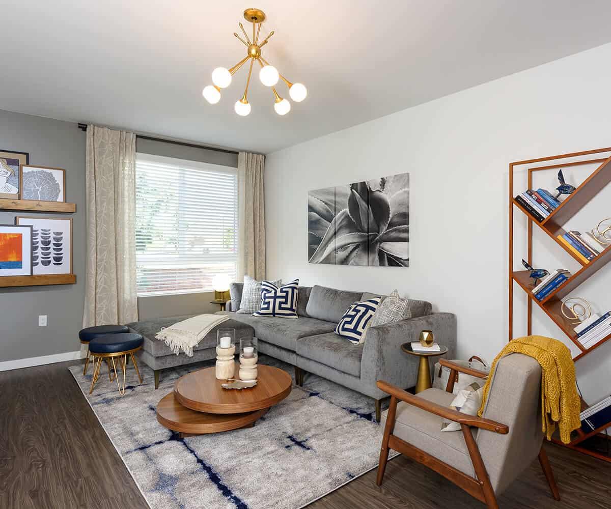 Spacious Living Room MODA Monrovia