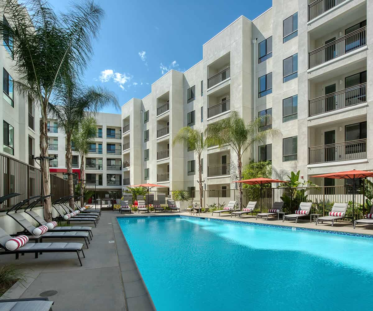 Apartments In Monrovia Pool MODA