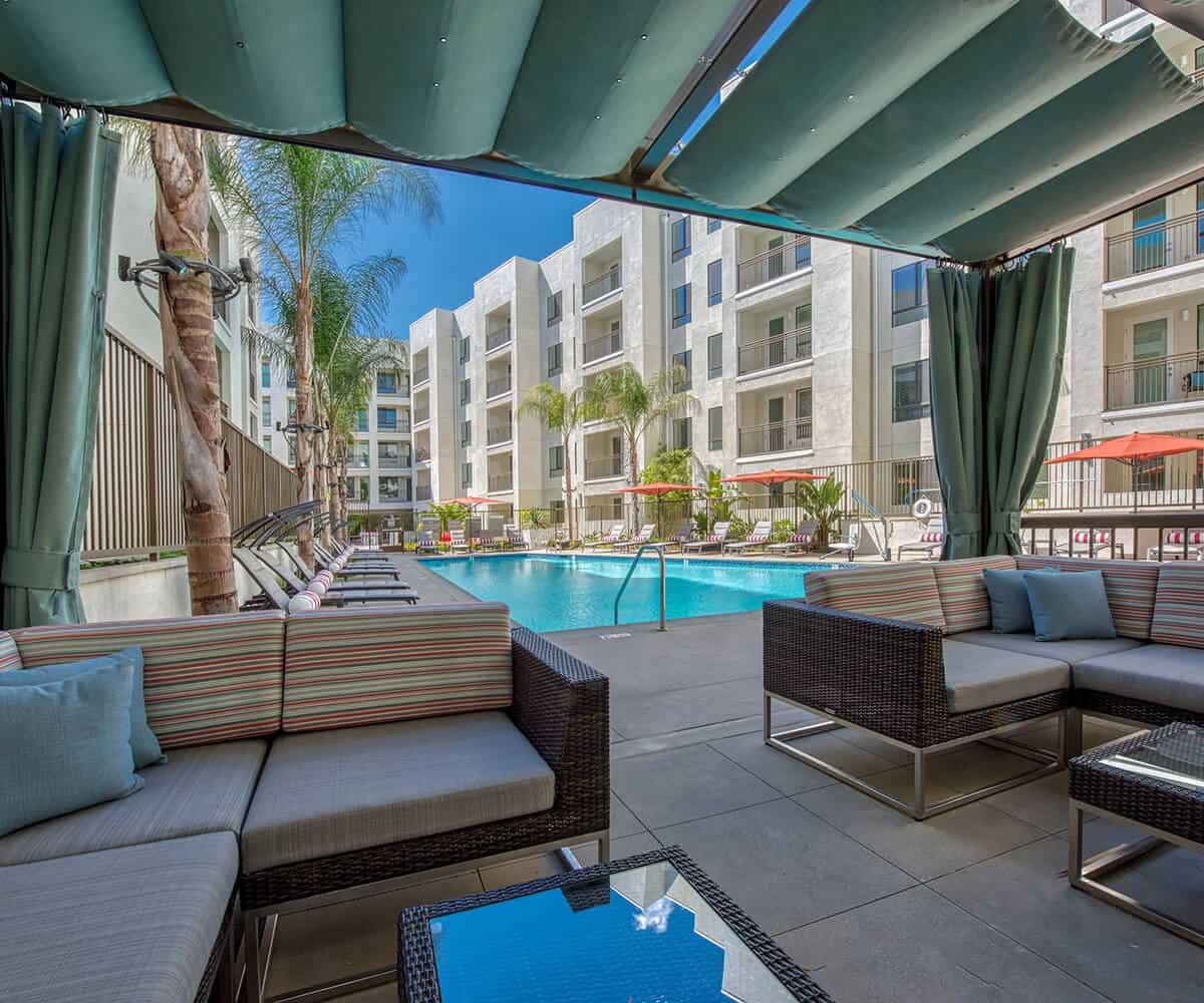 Luxury Apartments Monrovia MODA Pool
