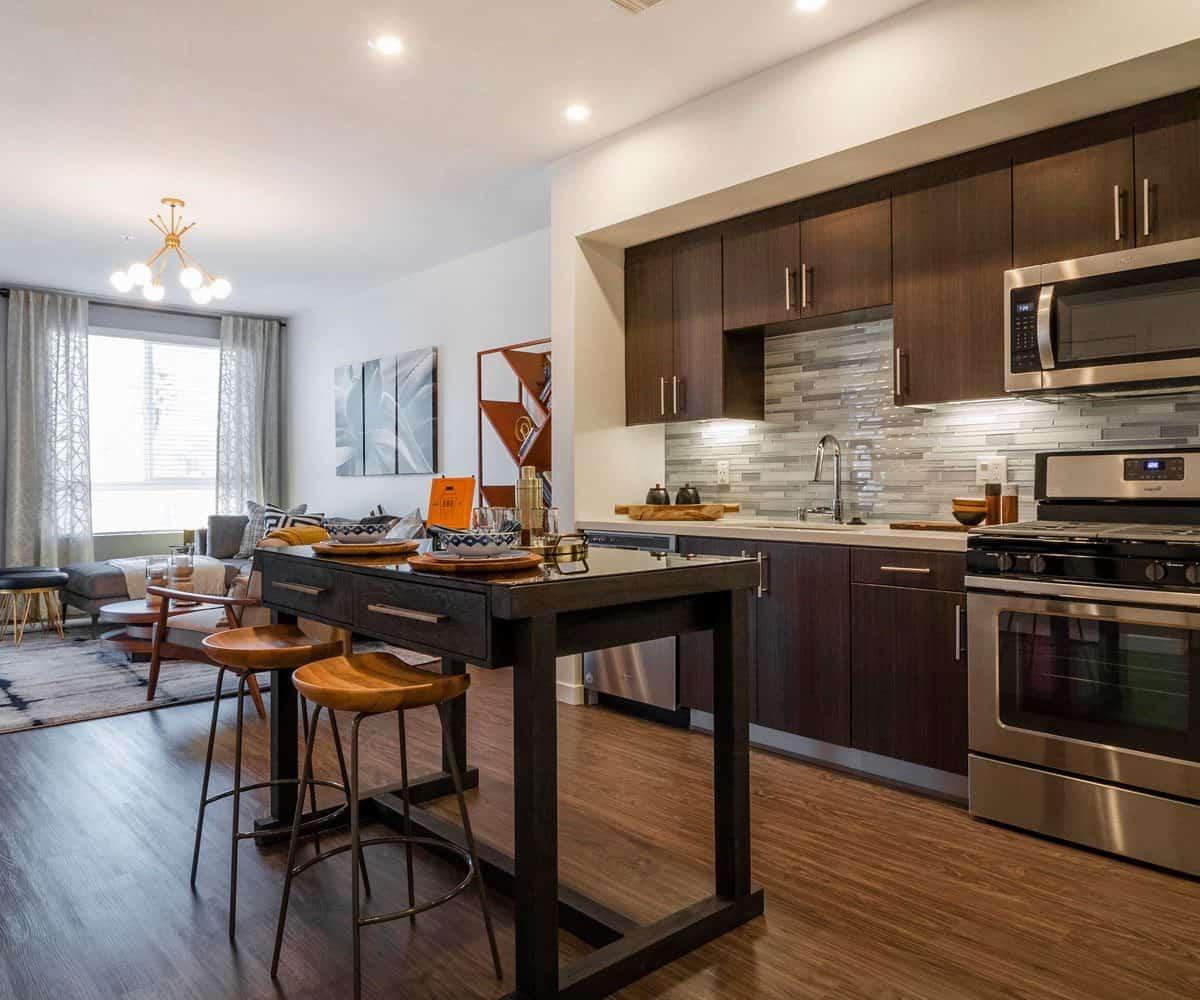Moda Apartments, Monrovia, Kitchen
