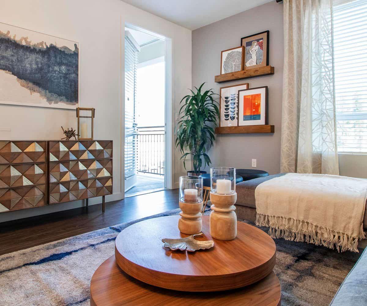 Moda Monrovia Spacious Living Room