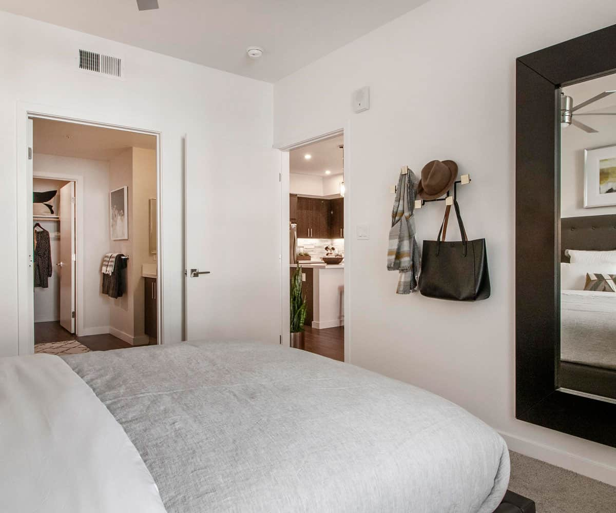 Apartments in Monrovia MODA Bedroom