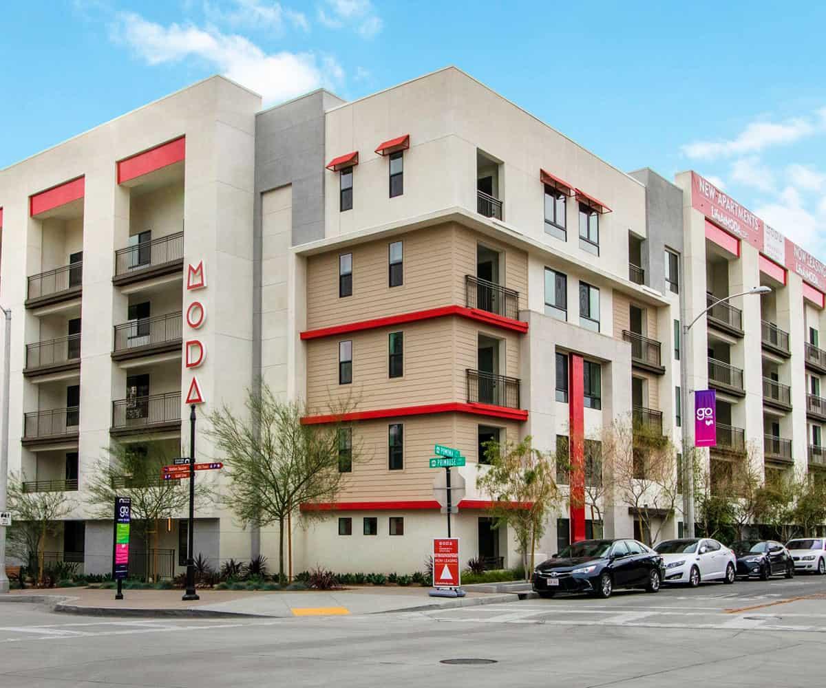 MODA Luxury Apartments in Monrovia California