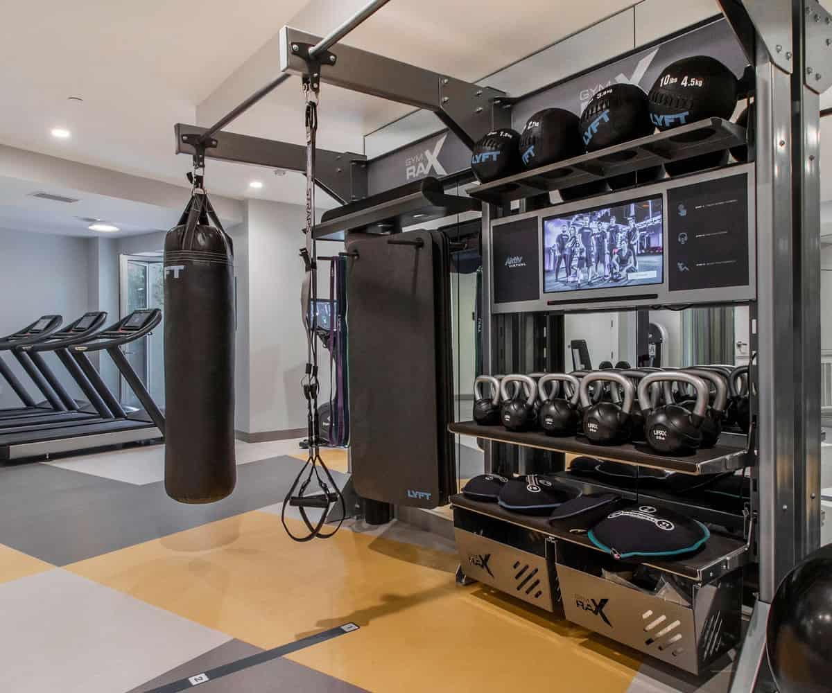Fitness Center MODA Monrovia Luxury Apartments